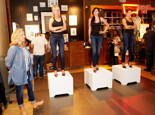 Levi's Cure ID Blogger Event Models