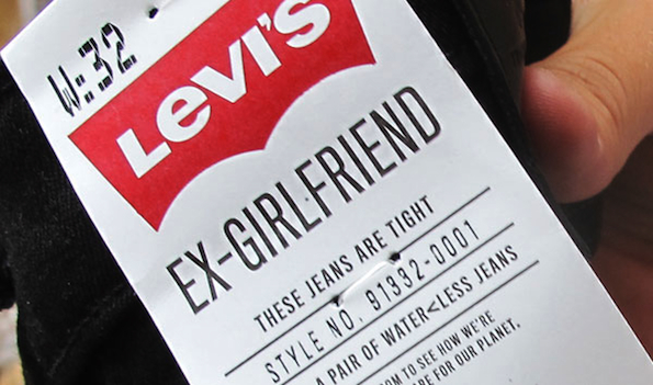 Levi's Ex-Girlfriend Tag