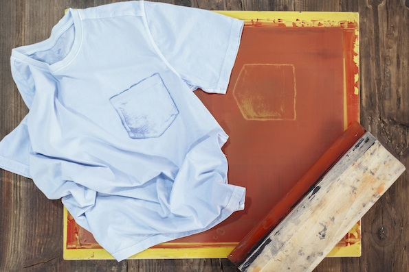 The Dockers® Wellthread Anchor T-Shirt was designed to use fabric more efficiently with a screen-printed pocket.