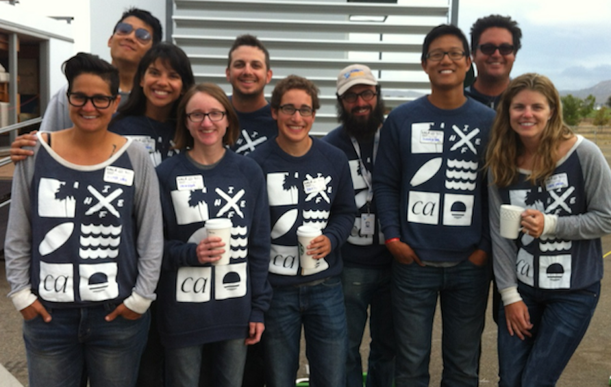 The SCI-Arc/Caltech team in Levi's® Water<Less™ jeans.