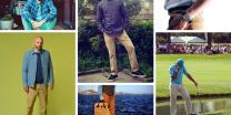 Khakis Instagram collage