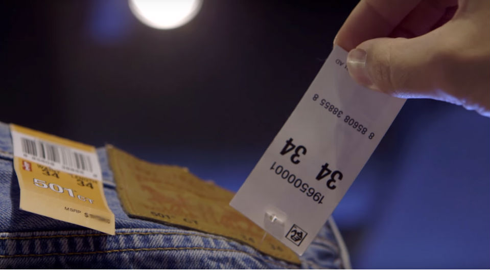 Levi's RFID Feature