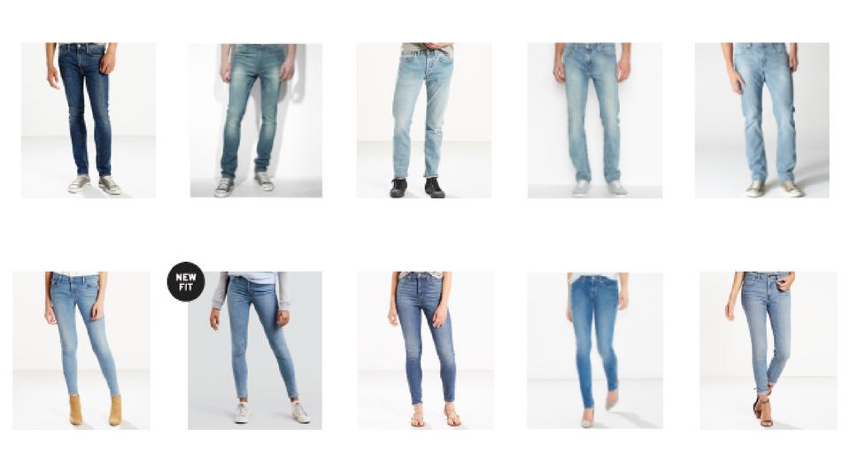 Mens 511 Levis Jeans