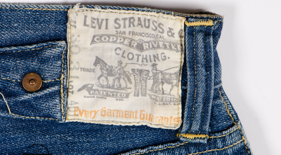 8b6002216dc Meet Viola: Our Oldest Pair of Women's Levi's® Jeans - Levi Strauss ...