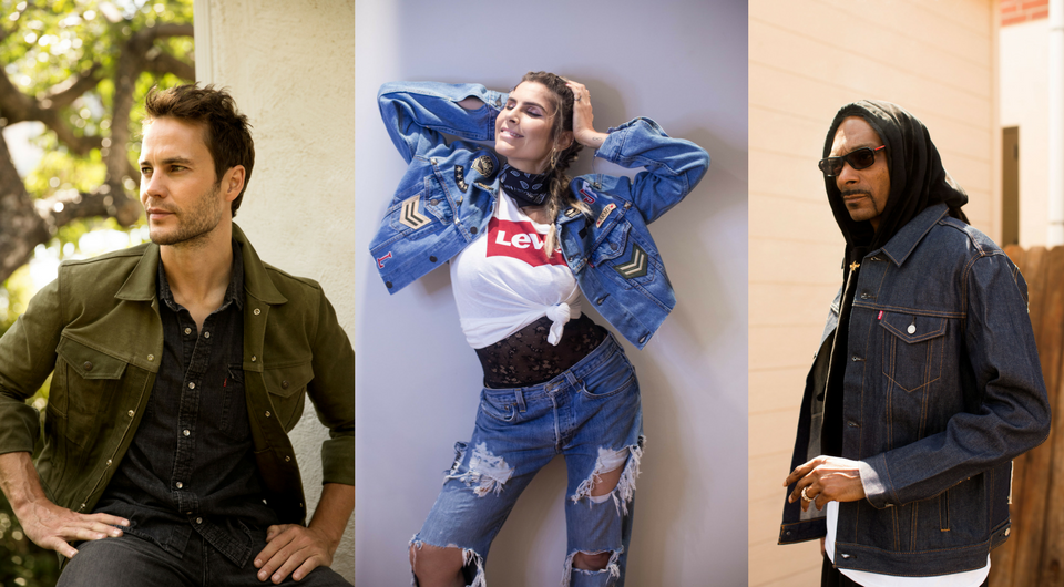 5ded2c43a Celebs Celebrate Type III Trucker Jacket With 'DIY' Creations - Levi ...