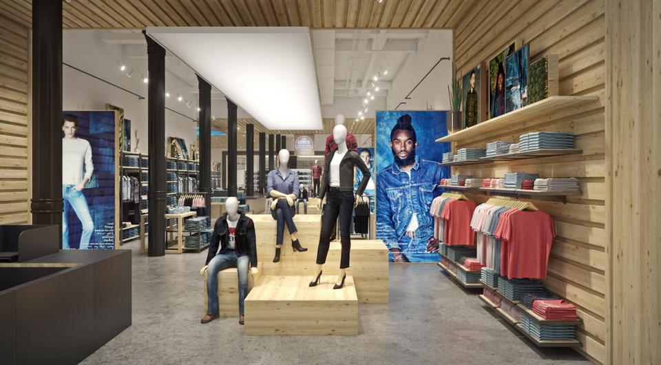 615435242d5 The Levi s® SoHo Flagship Store Gets a Stylish Upgrade - Levi ...