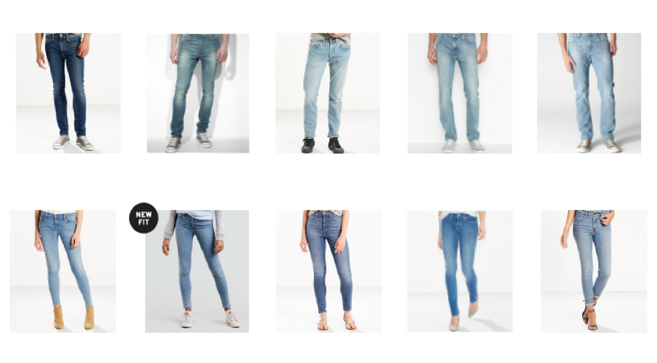 7c4481aa52aa It's the Levi's® Spring Fit Guide 2018! - Levi Strauss & Co : Levi ...