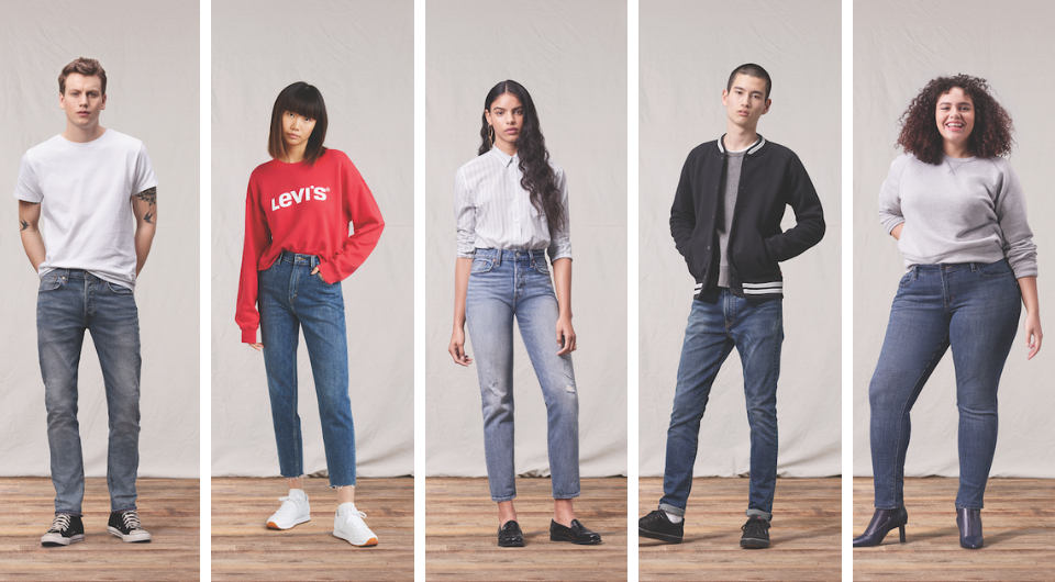 The Levi's® Spring 2019 Fit Guide is Here Levi Strauss