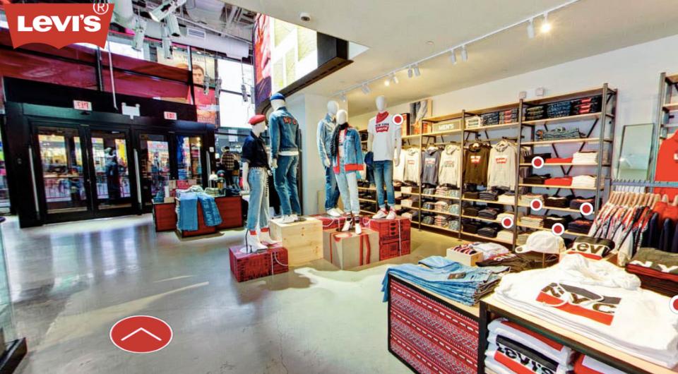 a basso prezzo d13d7 2d7b7 Browse & Shop: Levi's® Takes You On Virtual Store Tours ...