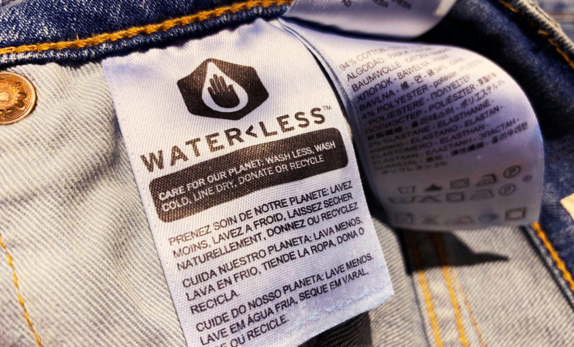 Water Less Tag