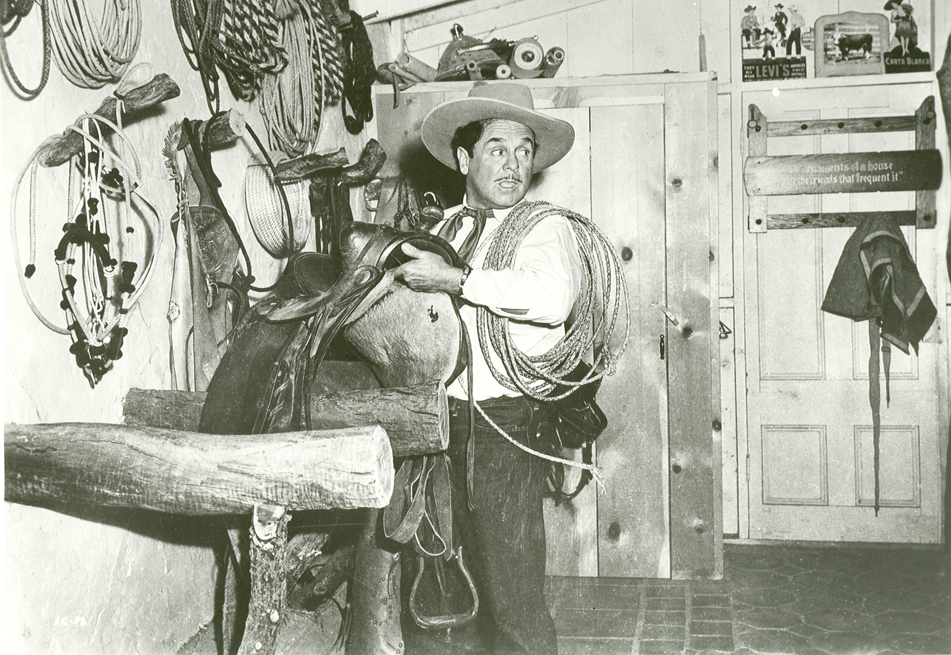 Hollywood westerns and Levi's