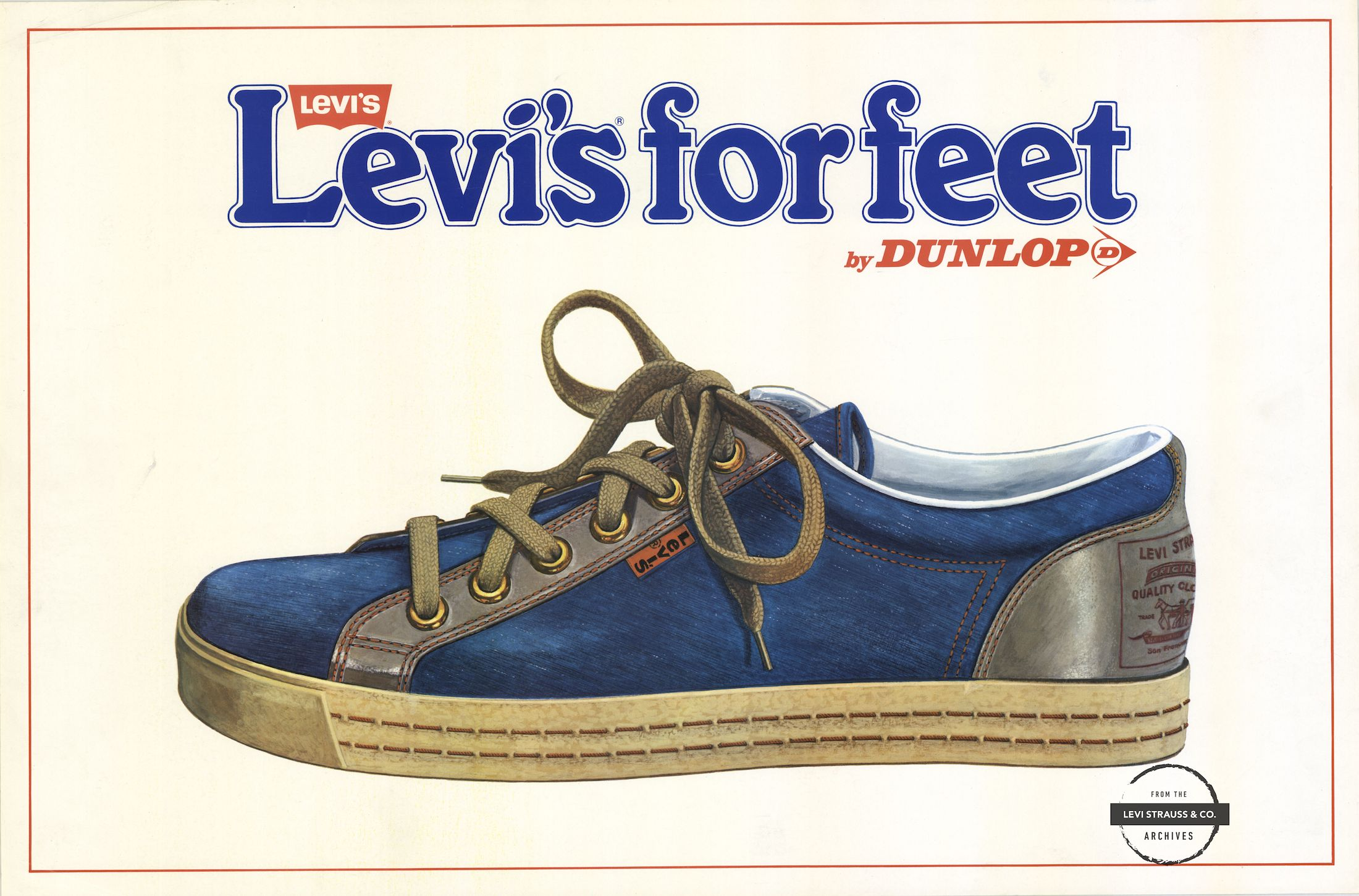 Levi's for Feet ad