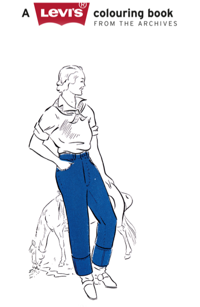 Levi's Coloring Book