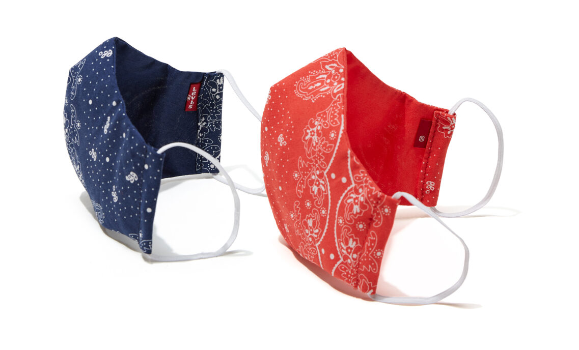 reusable Levi's masks
